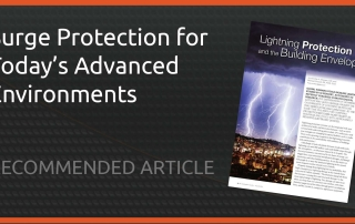 Article on Surge Protection for Modern Buildings