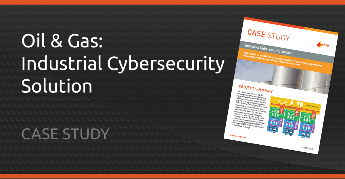 Oil and Gas cybersecurity case study from exida