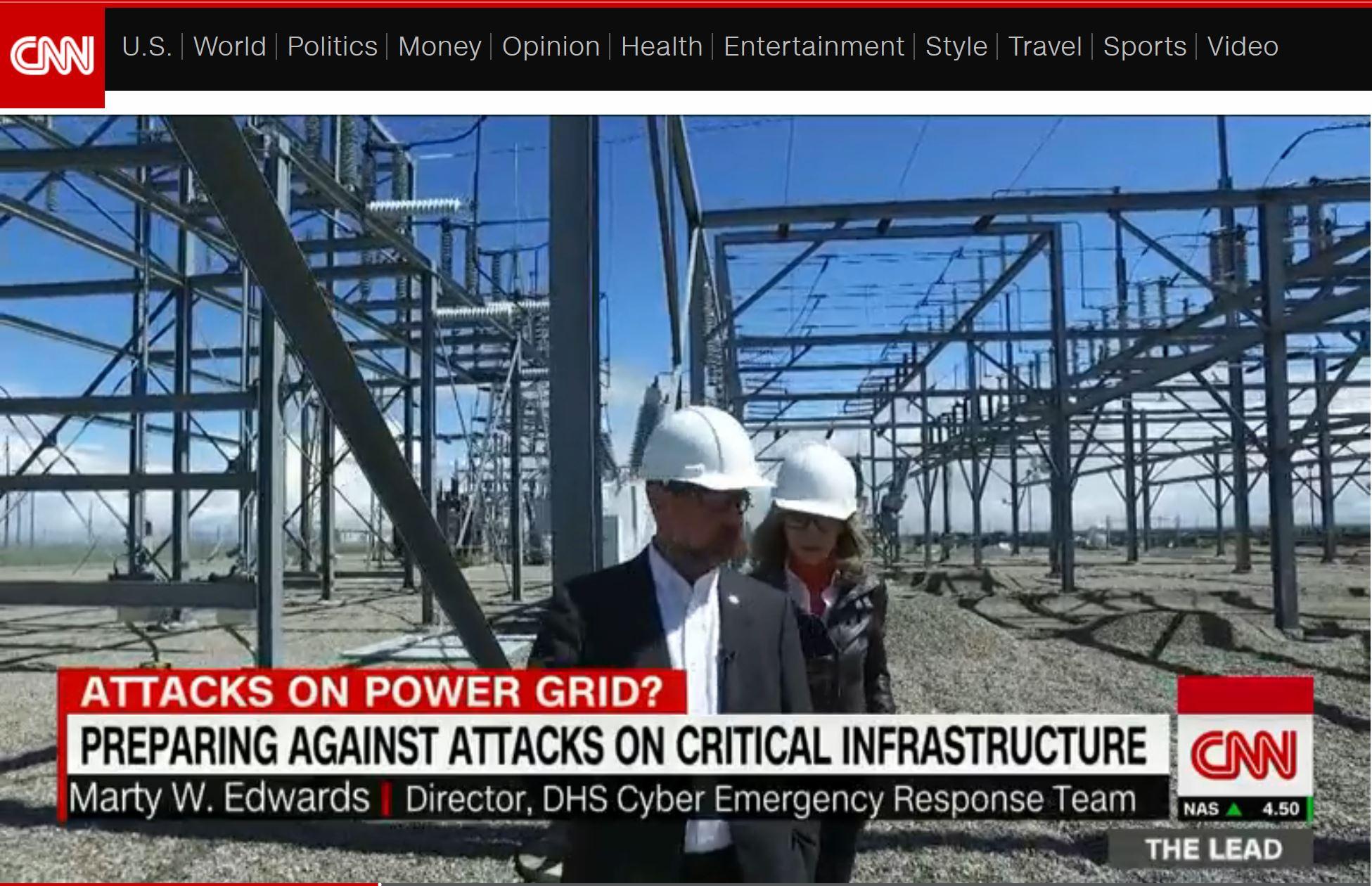 CNN report cyber security expert